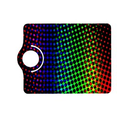 Digitally Created Halftone Dots Abstract Kindle Fire Hd (2013) Flip 360 Case