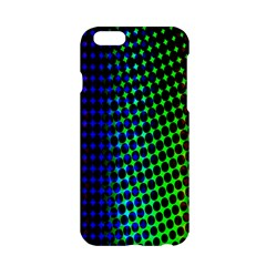 Digitally Created Halftone Dots Abstract Apple Iphone 6/6s Hardshell Case