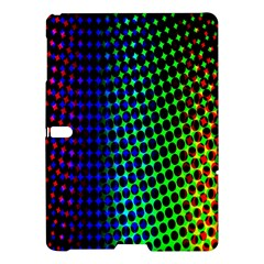 Digitally Created Halftone Dots Abstract Samsung Galaxy Tab S (10 5 ) Hardshell Case