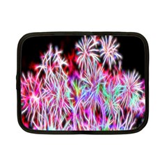 Fractal Fireworks Display Pattern Netbook Case (small)