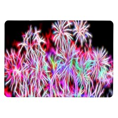Fractal Fireworks Display Pattern Samsung Galaxy Tab 10 1  P7500 Flip Case