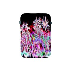 Fractal Fireworks Display Pattern Apple Ipad Mini Protective Soft Cases