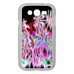 Fractal Fireworks Display Pattern Samsung Galaxy Grand Duos I9082 Case (white)