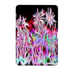 Fractal Fireworks Display Pattern Samsung Galaxy Tab 2 (10 1 ) P5100 Hardshell Case