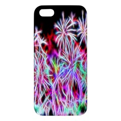 Fractal Fireworks Display Pattern Iphone 5s/ Se Premium Hardshell Case