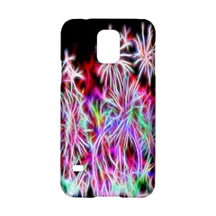 Fractal Fireworks Display Pattern Samsung Galaxy S5 Hardshell Case