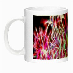 Fractal Fireworks Display Pattern Night Luminous Mugs