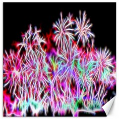 Fractal Fireworks Display Pattern Canvas 12  X 12