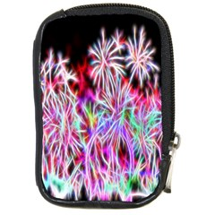 Fractal Fireworks Display Pattern Compact Camera Cases