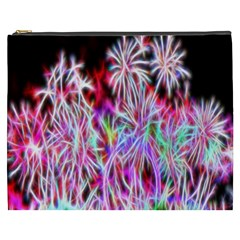 Fractal Fireworks Display Pattern Cosmetic Bag (xxxl)