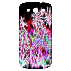 Fractal Fireworks Display Pattern Samsung Galaxy S3 S Iii Classic Hardshell Back Case