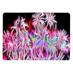 Fractal Fireworks Display Pattern Samsung Galaxy Tab 10 1  P7500 Flip Case