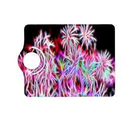 Fractal Fireworks Display Pattern Kindle Fire Hd (2013) Flip 360 Case