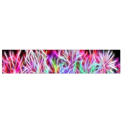 Fractal Fireworks Display Pattern Flano Scarf (small)
