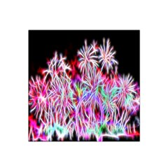 Fractal Fireworks Display Pattern Satin Bandana Scarf