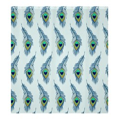 Background Of Beautiful Peacock Feathers Shower Curtain 66  X 72  (large)