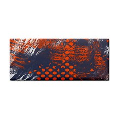 Dark Blue Red And White Messy Background Cosmetic Storage Cases