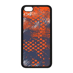 Dark Blue Red And White Messy Background Apple Iphone 5c Seamless Case (black)