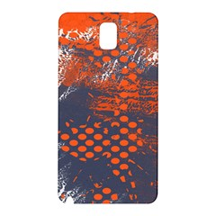 Dark Blue Red And White Messy Background Samsung Galaxy Note 3 N9005 Hardshell Back Case