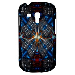 Fancy Fractal Pattern Background Accented With Pretty Colors Galaxy S3 Mini