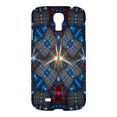 Fancy Fractal Pattern Background Accented With Pretty Colors Samsung Galaxy S4 I9500/i9505 Hardshell Case
