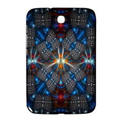 Fancy Fractal Pattern Background Accented With Pretty Colors Samsung Galaxy Note 8 0 N5100 Hardshell Case
