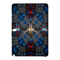 Fancy Fractal Pattern Background Accented With Pretty Colors Samsung Galaxy Tab Pro 10 1 Hardshell Case