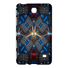 Fancy Fractal Pattern Background Accented With Pretty Colors Samsung Galaxy Tab 4 (8 ) Hardshell Case