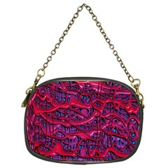 Plastic Mattress Background Chain Purses (two Sides)