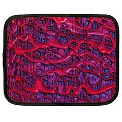 Plastic Mattress Background Netbook Case (xl)
