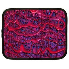 Plastic Mattress Background Netbook Case (xxl)