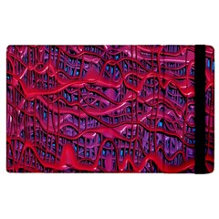Plastic Mattress Background Apple Ipad 3/4 Flip Case