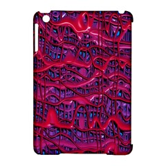 Plastic Mattress Background Apple Ipad Mini Hardshell Case (compatible With Smart Cover)