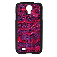 Plastic Mattress Background Samsung Galaxy S4 I9500/ I9505 Case (black)