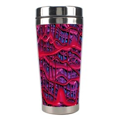 Plastic Mattress Background Stainless Steel Travel Tumblers