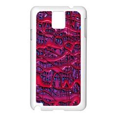 Plastic Mattress Background Samsung Galaxy Note 3 N9005 Case (white)