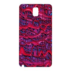 Plastic Mattress Background Samsung Galaxy Note 3 N9005 Hardshell Back Case