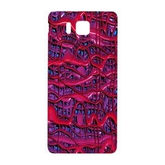 Plastic Mattress Background Samsung Galaxy Alpha Hardshell Back Case