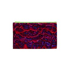 Plastic Mattress Background Cosmetic Bag (xs)