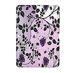 Floral Pattern Background Samsung Galaxy Tab 2 (10 1 ) P5100 Hardshell Case