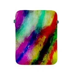 Colorful Abstract Paint Splats Background Apple Ipad 2/3/4 Protective Soft Cases
