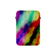 Colorful Abstract Paint Splats Background Apple Ipad Mini Protective Soft Cases
