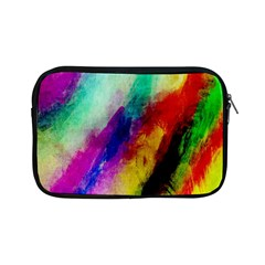 Colorful Abstract Paint Splats Background Apple Ipad Mini Zipper Cases