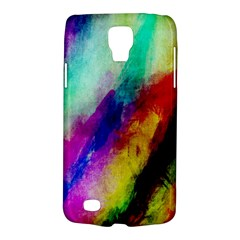 Colorful Abstract Paint Splats Background Galaxy S4 Active