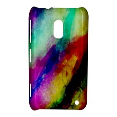 Colorful Abstract Paint Splats Background Nokia Lumia 620