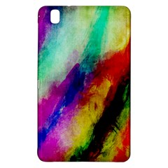 Colorful Abstract Paint Splats Background Samsung Galaxy Tab Pro 8 4 Hardshell Case