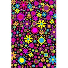 Bright And Busy Floral Wallpaper Background 5 5  X 8 5  Notebooks