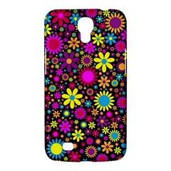 Bright And Busy Floral Wallpaper Background Samsung Galaxy Mega 6 3  I9200 Hardshell Case