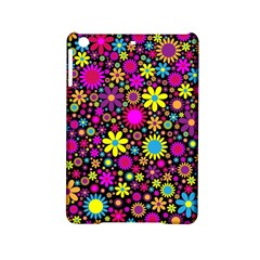 Bright And Busy Floral Wallpaper Background Ipad Mini 2 Hardshell Cases