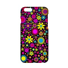 Bright And Busy Floral Wallpaper Background Apple Iphone 6/6s Hardshell Case